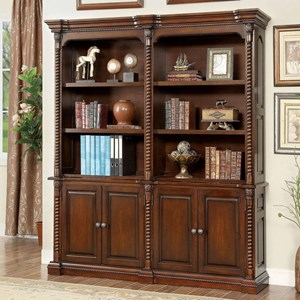 Book Shelf Buffet and Hutch