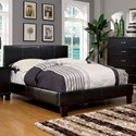 Furniture of America Winn Park Full Bed Upholstered Bed - Item Number: CM7008F-BED