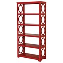 Furniture of America Zoey Display Shelf - Item Number: CM-AC6436RD