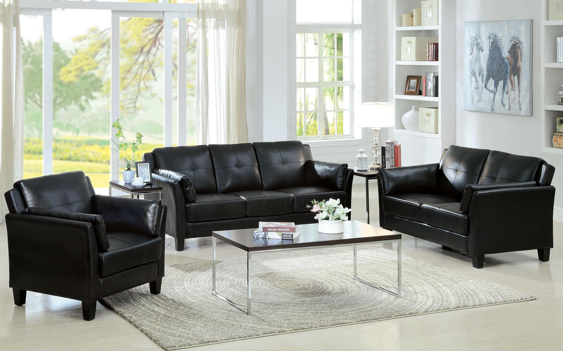 Furniture of America / Import Direct CM6717 Living Room Group - Item Number: CM6717