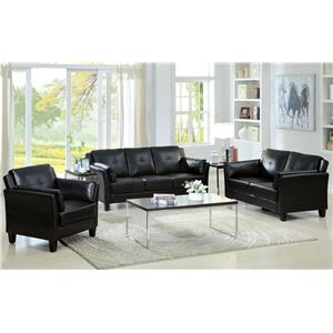 Furniture of America / Import Direct CM6717 Living Room Group