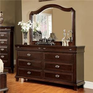 Furniture of America / Import Direct CM7065 Dresser and Mirror