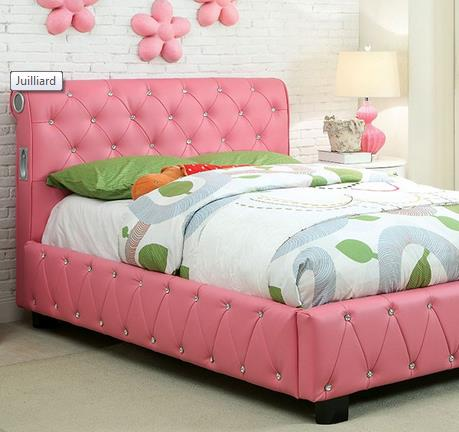 Furniture of America / Import Direct Julliard Collection Bed - Item Number: CM7056-F