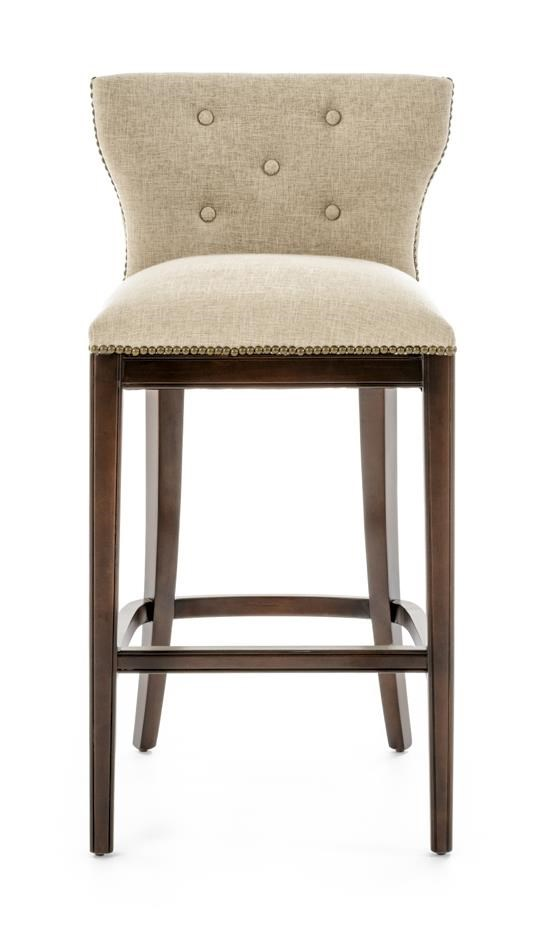 Furniture Origins Barstools Bar Stool - Item Number: A0000A-BS21XFE CREAM