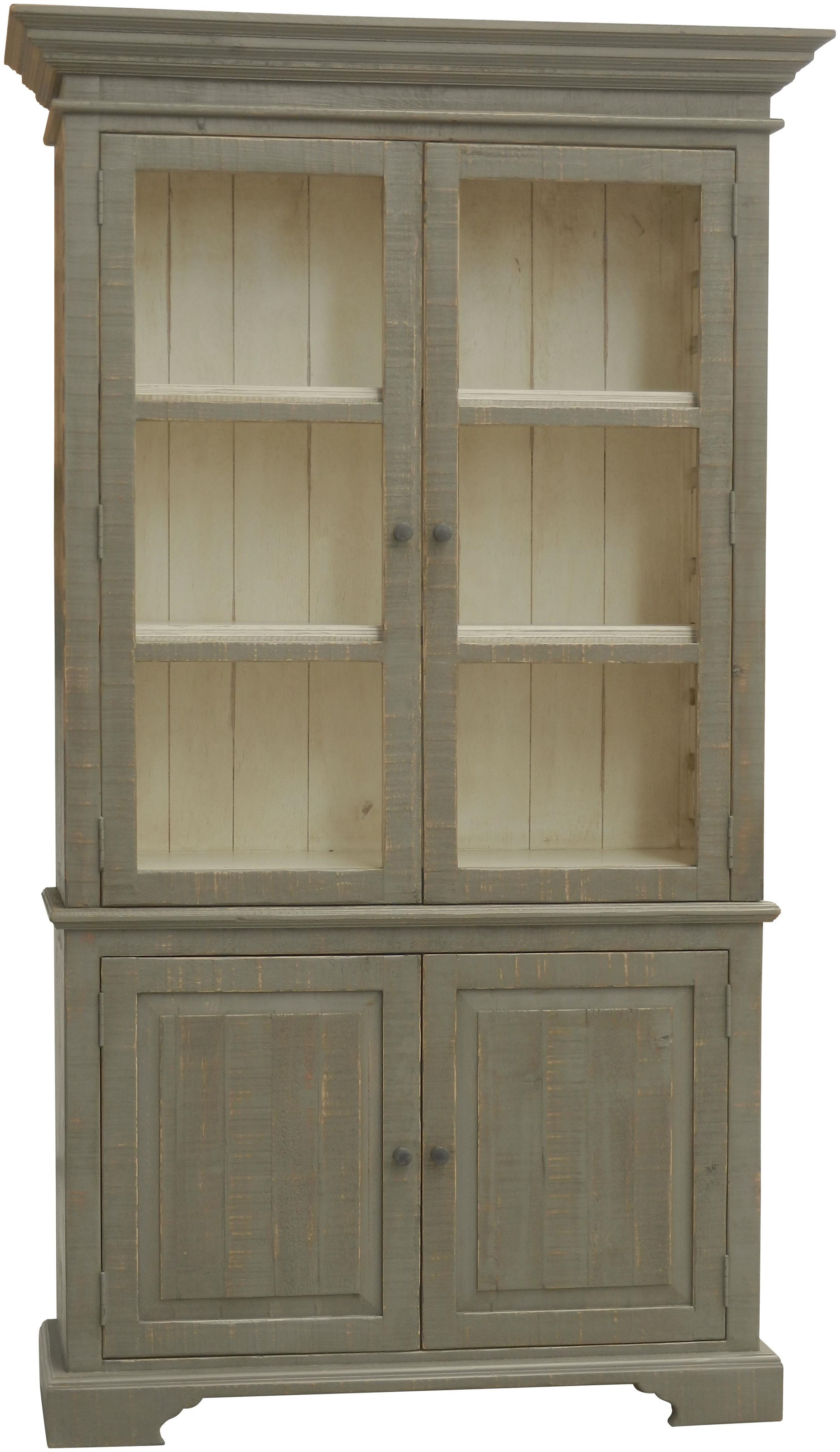 Furniture Source International Accent Pieces Elaine Display Cabinet - Item Number: GRP-86HUT-HUTCH