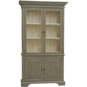 Furniture Source International Accent Pieces Elaine Display Cabinet