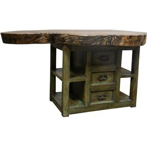 Gentil Furniture Source International Dining Everest Kitchen Island