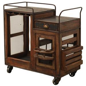 Furniture Source International Dining  Bar Cart