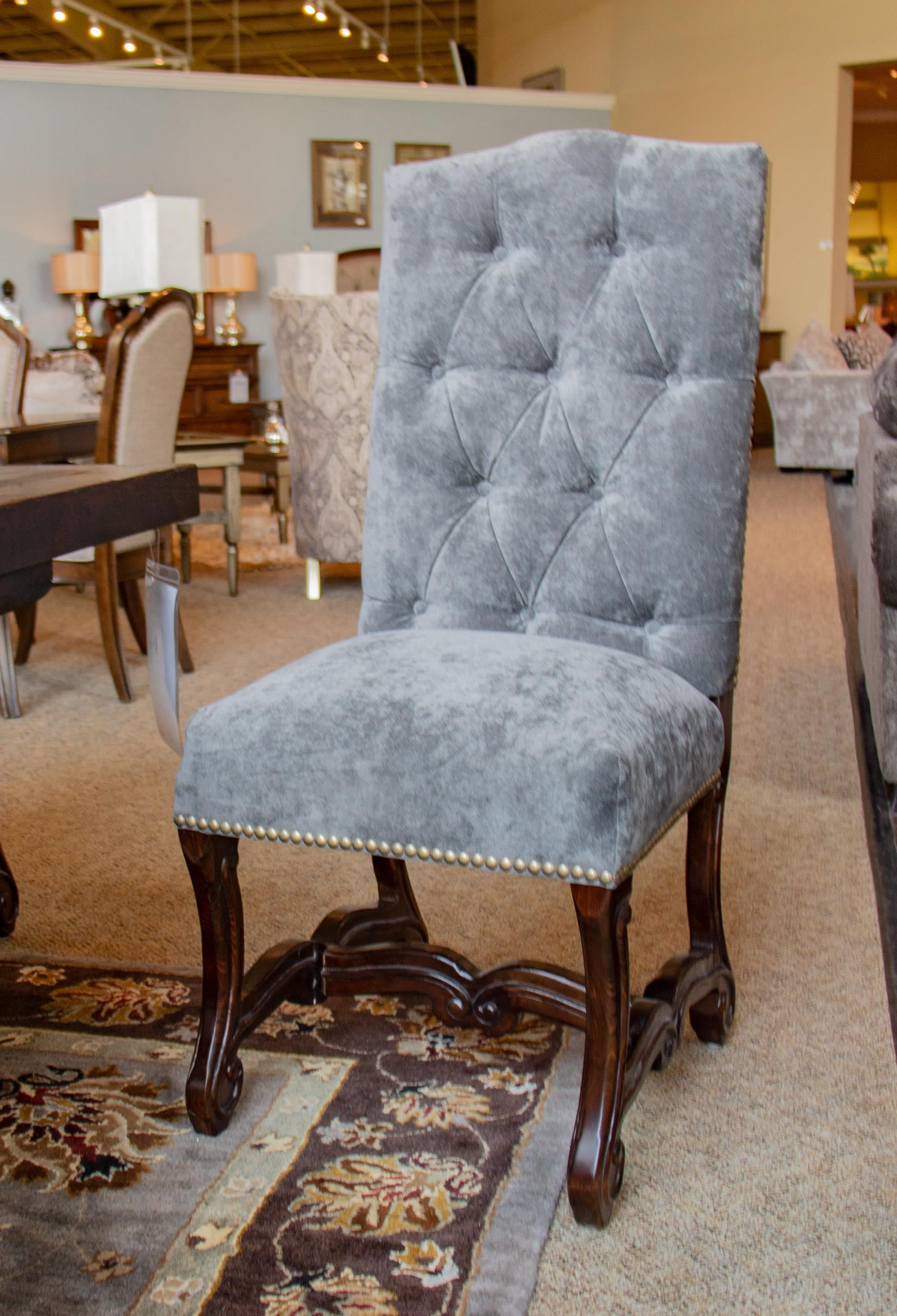 Tufted Velvet Dining Chair