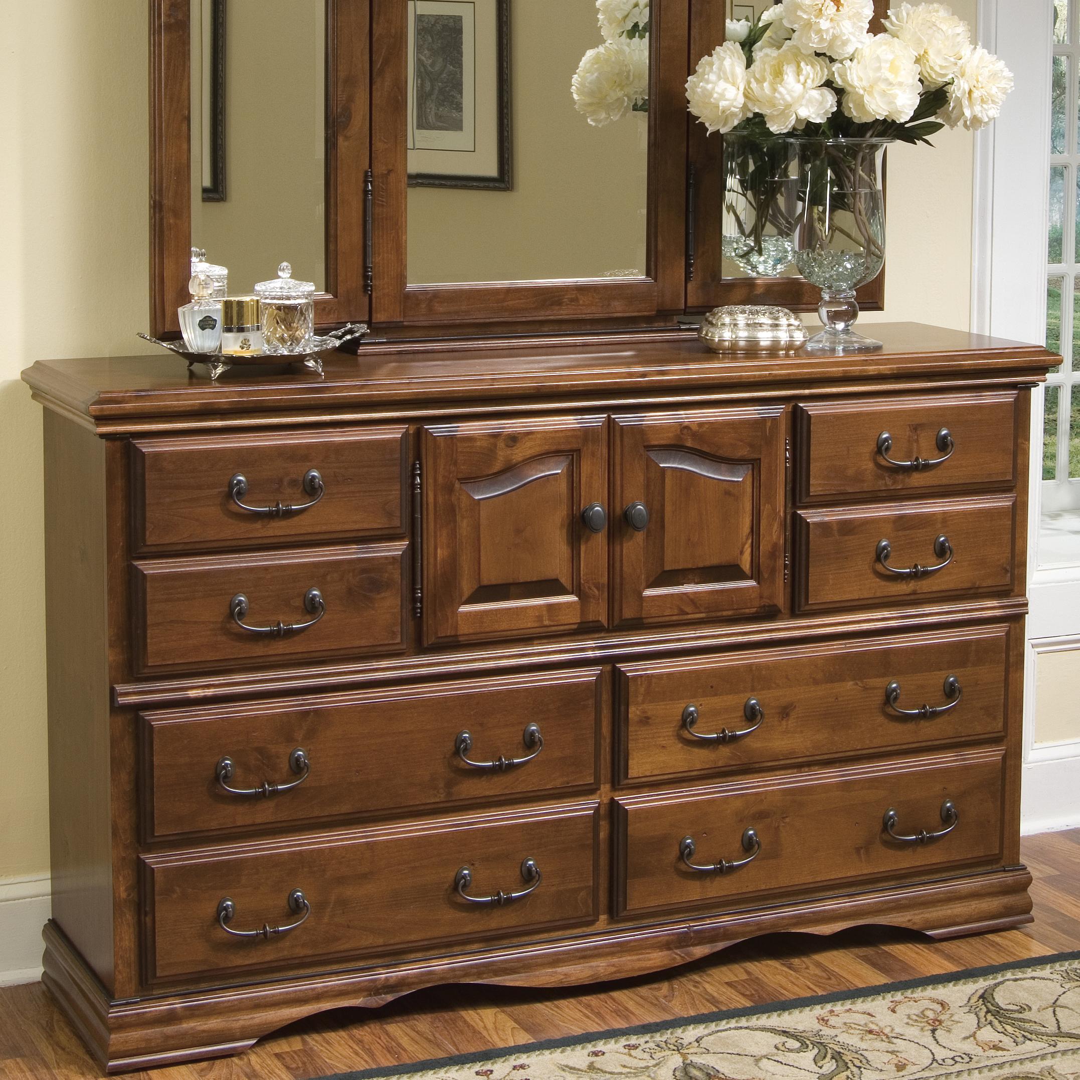 Furniture Traditions Alder Hill Dresser - Item Number: A2000