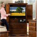 Furniture Traditions Alder Hill Safe Chest - Item Number: A2335