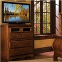 Furniture Traditions Alder Hill Entertainment Console - Item Number: A2550
