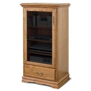 Furniture Traditions American Living Media Pier Cabinet Left