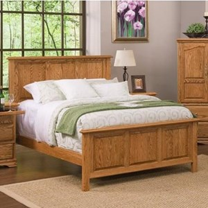 Furniture Traditions Master-Piece Queen American Heritage Panel Bed