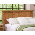 Furniture Traditions Master-Piece Cal King American Heritage Panel Headboard - Item Number: 151CKM