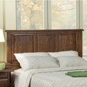 Furniture Traditions Master-Piece Cal King American Heritage Panel Headboard - Item Number: 151CKPD