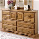 Furniture Traditions Master-Piece Master-piece Dresser - Item Number: 2000