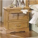 Furniture Traditions Master-Piece Master-piece Nightstand - Item Number: 2125