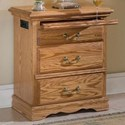 Furniture Traditions Master-Piece 3-Drawer Nightstand Right - Item Number: 2135