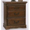 Furniture Traditions Master-Piece 3-Drawer Nightstand Right - Item Number: 2135PD