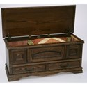 Furniture Traditions Master-Piece Cedar-Lined Hope Chest