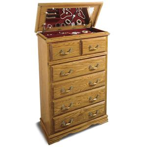 Furniture Traditions Master-Piece Jewery Chest