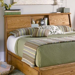 Furniture Traditions Master-Piece Queen/Full Simple Bookcase Headboard