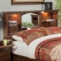 Furniture Traditions Master-Piece King/Cal King Nostalgia Bookcase Headboard - Item Number: 275EK-CKPD