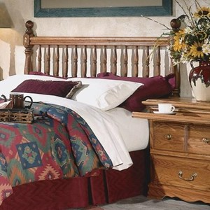 Furniture Traditions Master-Piece Queen Deluxe Spindle Headboard
