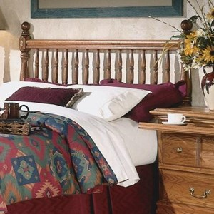 Furniture Traditions Master-Piece Twin Deluxe Spindle Headboard