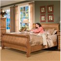Furniture Traditions Master-Piece King Classic Sleigh Bed - Item Number: 700EKM