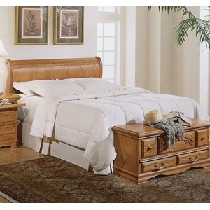Furniture Traditions Master-Piece Queen Sleigh Headboard