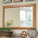 Furniture Traditions Master-Piece Wall Mirror - Item Number: 890M