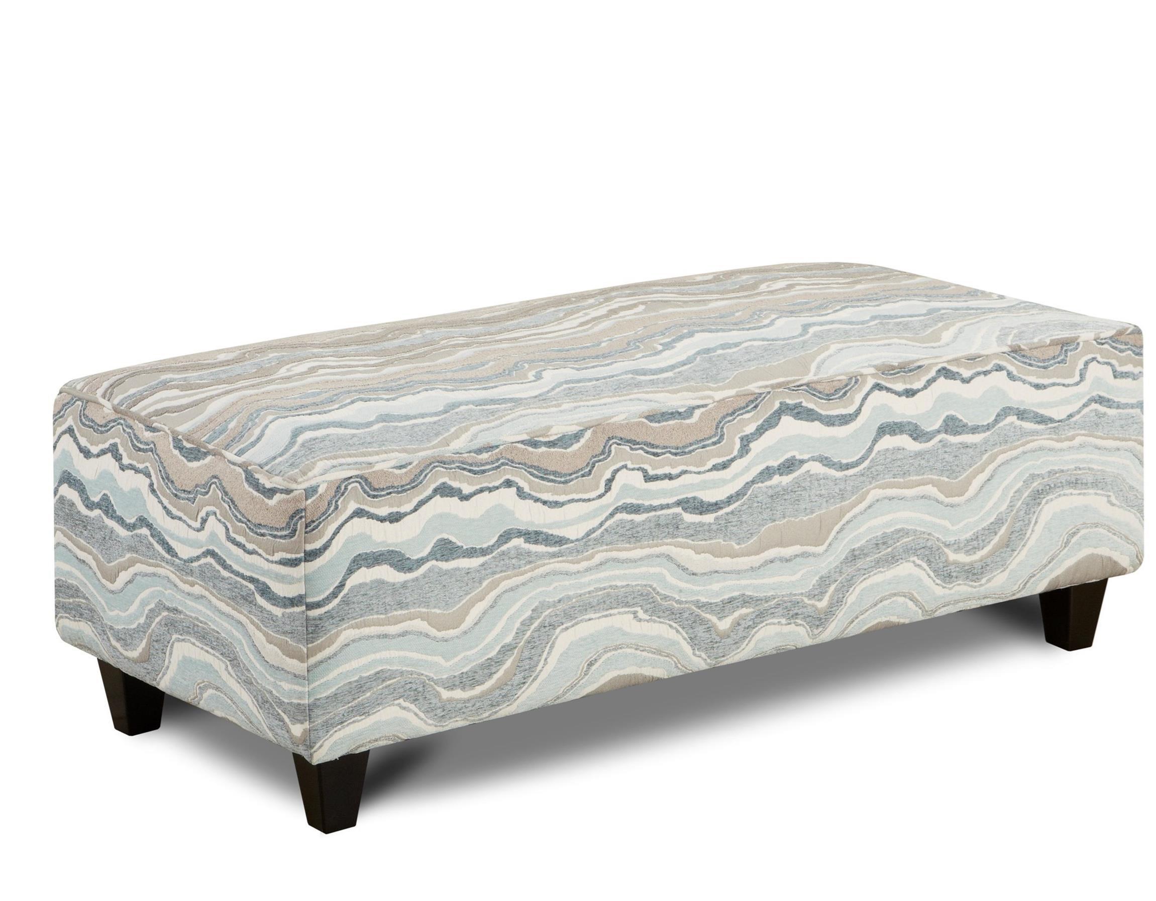Fusion Furniture 100 Ottoman - Item Number: 100Metamorphosis Mist