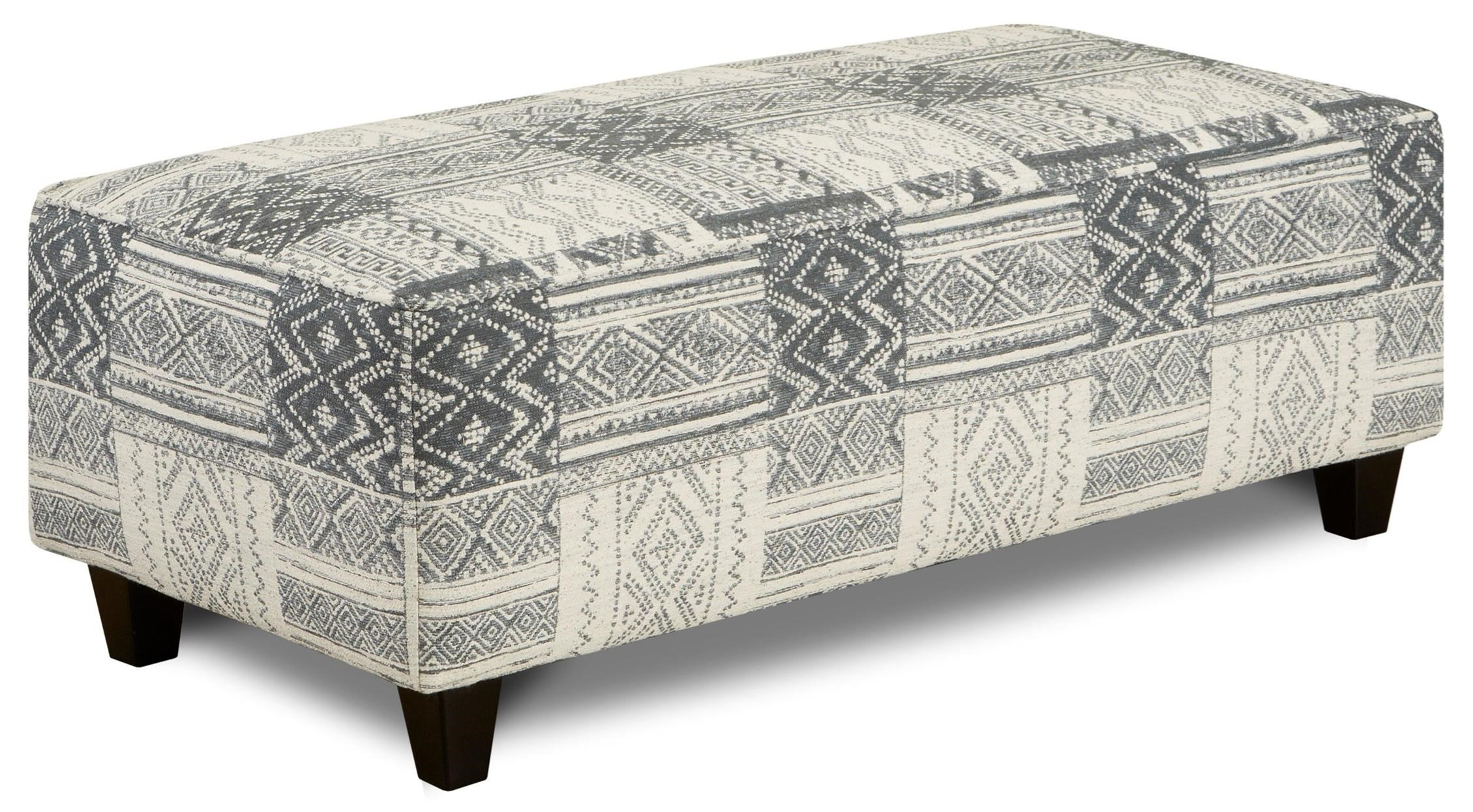 100 Ottoman by FN at Lindy's Furniture Company