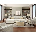 Fusion Furniture 1050-20 Living Room Group - Item Number: 1050-20 Living Room Group 2