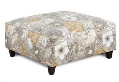 Fusion Furniture 109 Square Ottoman - Item Number: 109BAHENGA TWINE