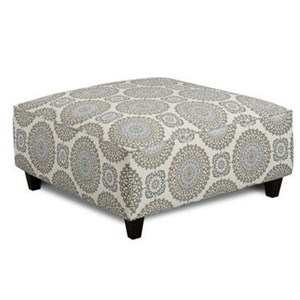 Fusion Furniture 109 Square Ottoman