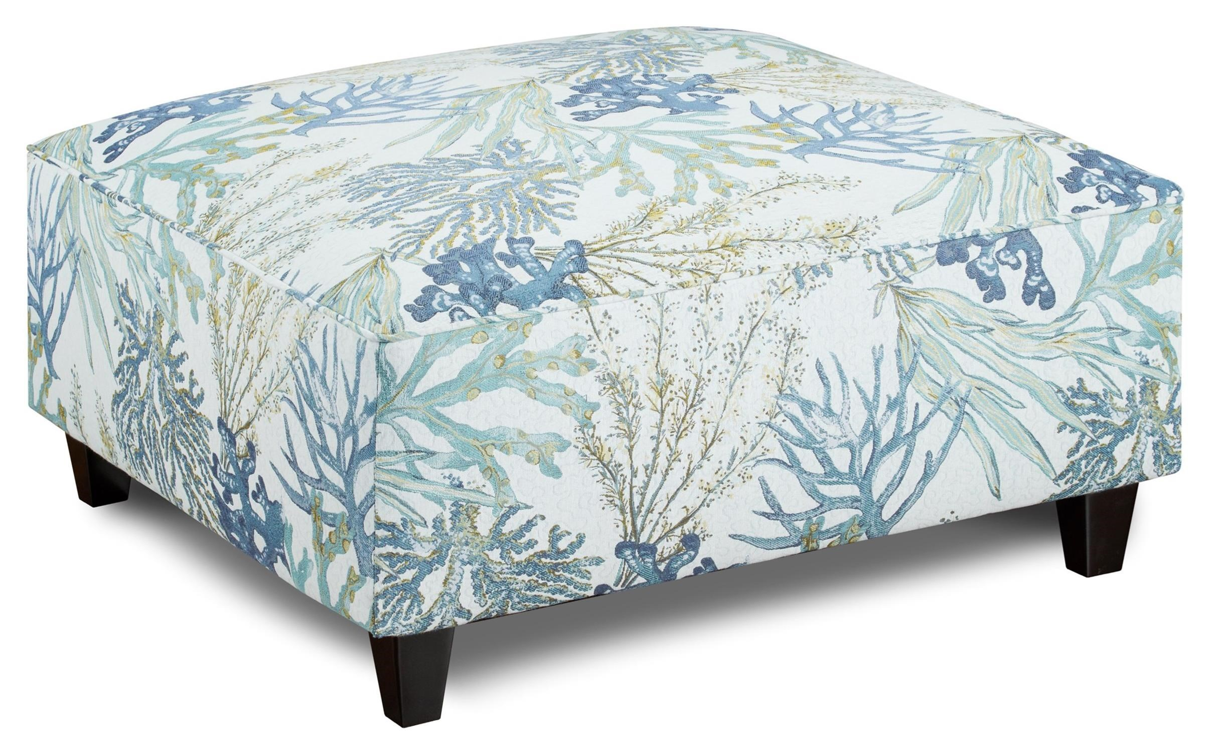 109 Square Ottoman by VFM Signature at Virginia Furniture Market
