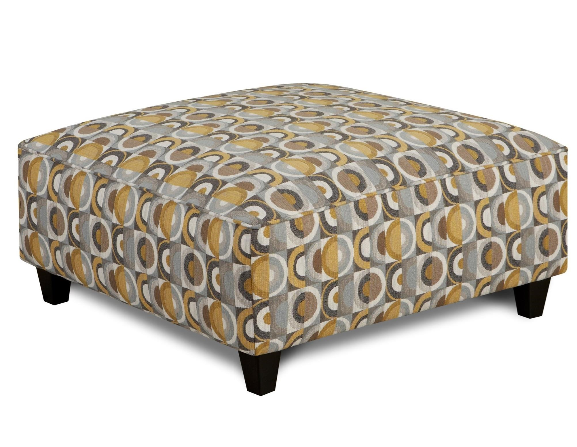 109 Square Ottoman by Fusion Furniture at Wilcox Furniture