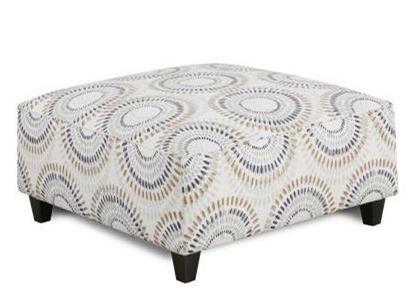 Fusion Furniture 109 Square Ottoman - Item Number: 109Manifesto Orson Belgian
