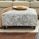 Fusion Furniture 109 Square Ottoman - Item Number: 109Piper River Rock