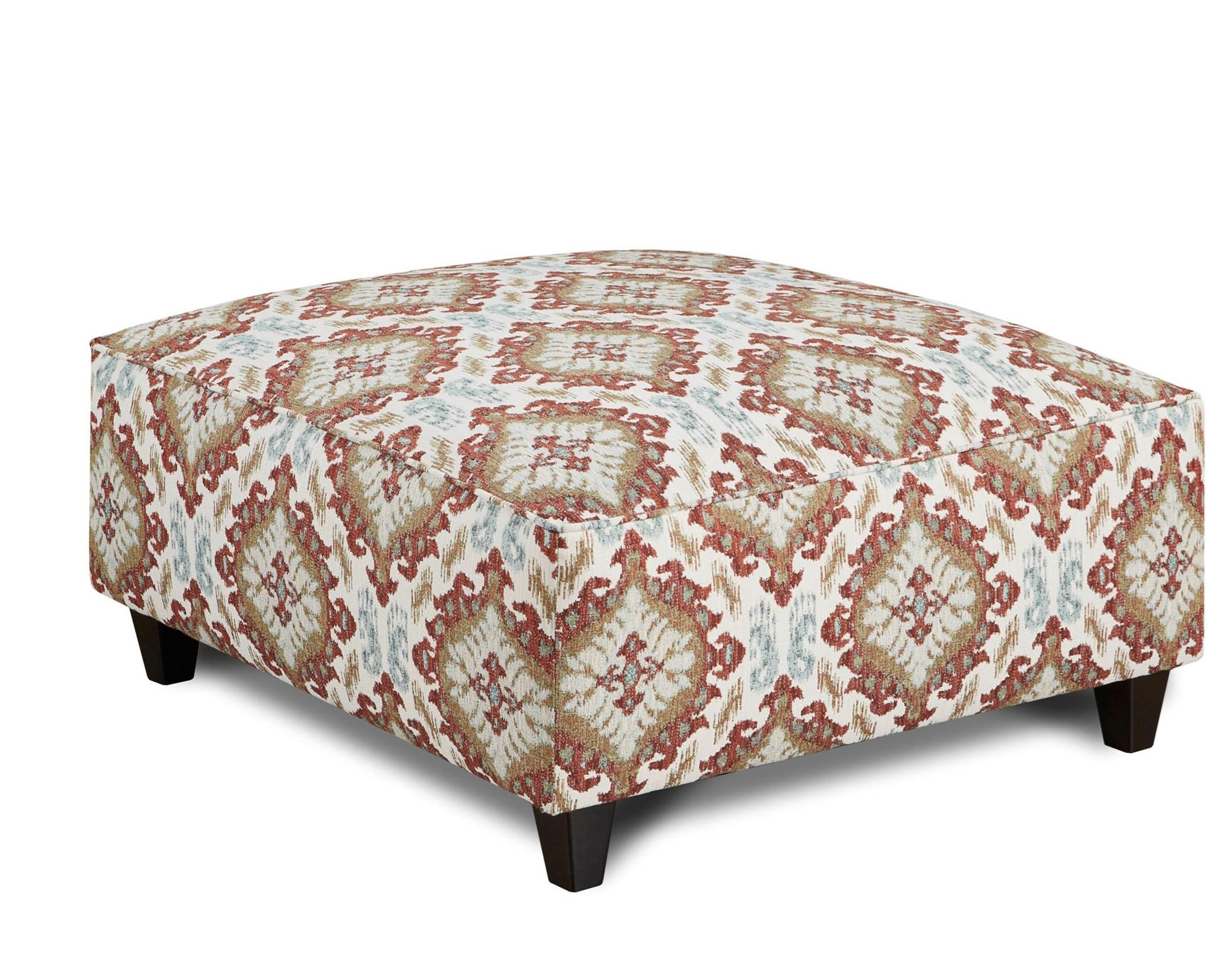109 Square Ottoman by Fusion Furniture at Furniture Superstore - Rochester, MN