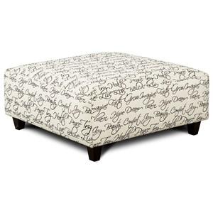 Fusion Furniture 109 Square Ottoman