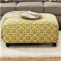 Fusion Furniture 109 Square Ottoman - Item Number: 109Vreeland Dandelion