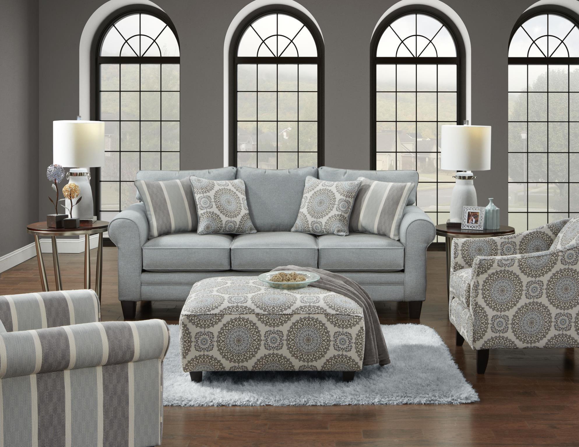 1140 Grande Mist Grande Mist Living Room by Fusion Furniture at Furniture Fair - North Carolina