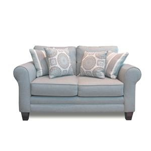 Fusion Furniture Grande Mist Loveseat