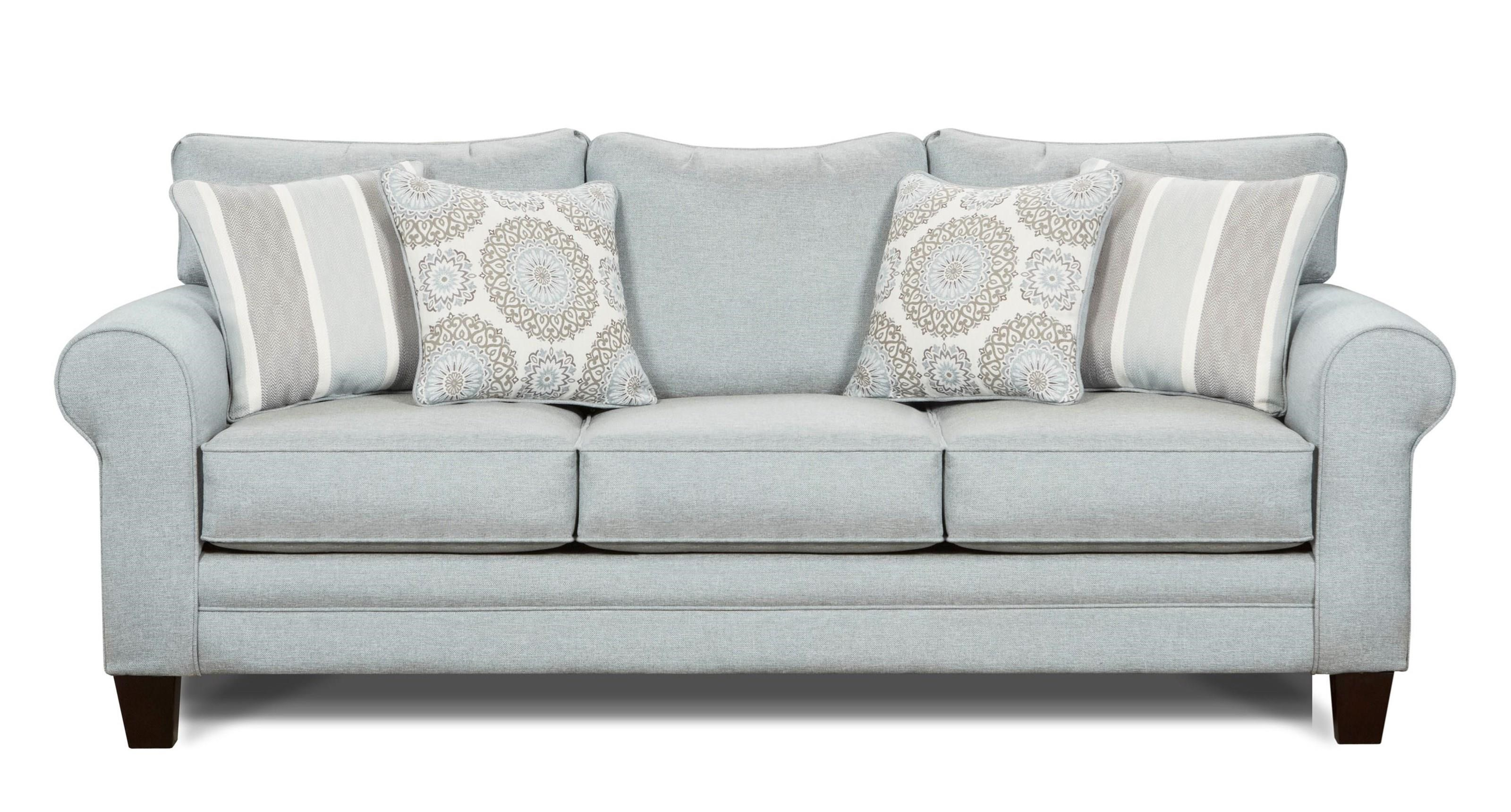 Fusion Furniture Grande Mist Sleeper Sofa - Item Number: 1144 GRANDE-MIST