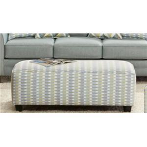 Fusion Furniture 1140 Cocktail Ottoman