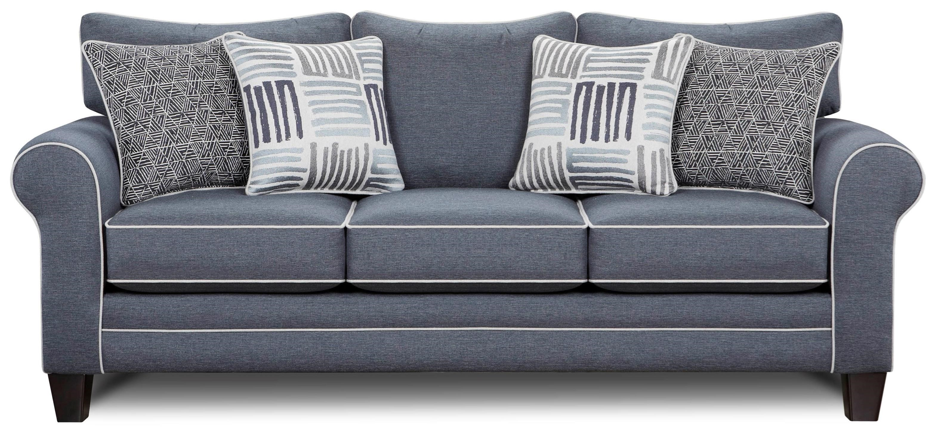 VFM Signature 1140 Sofa - Item Number: 1140-CWGrande Denim